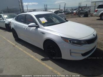 Salvage Kia Optima